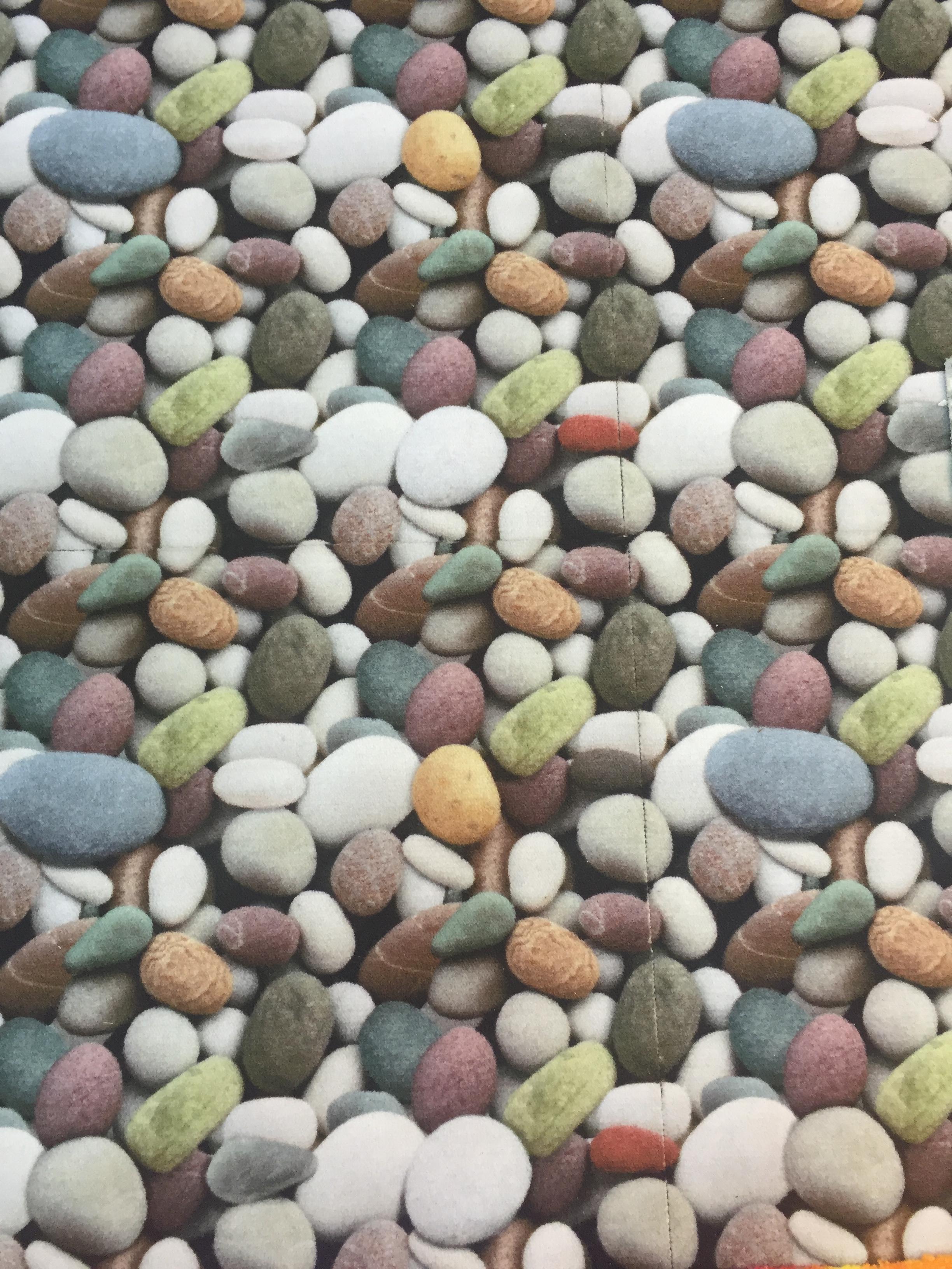 フルカラーで印刷したタイルカーペット