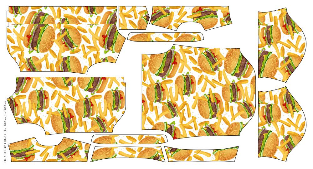 ハンバーガー シャツ