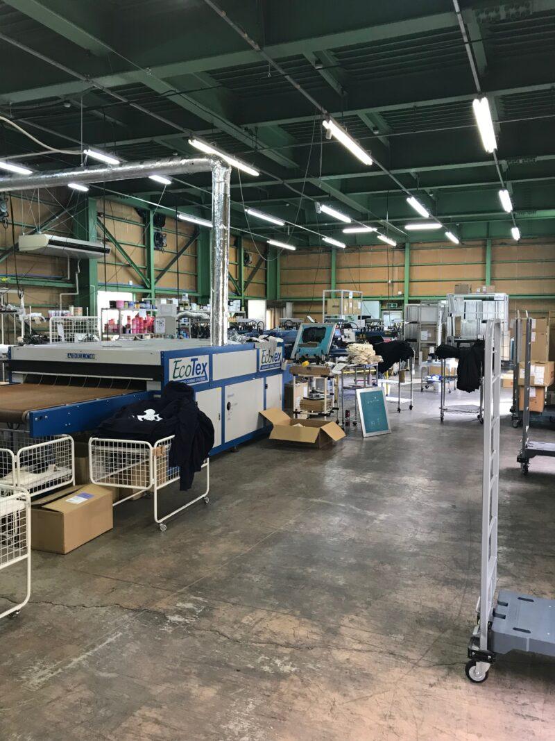 Tシャツプリント工場