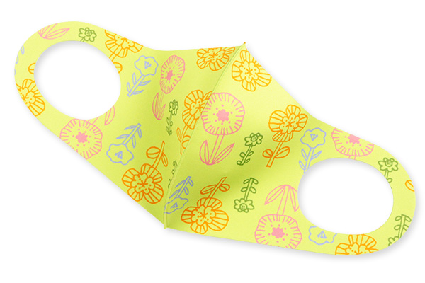 保湿・抗菌防臭加工のさらマスク